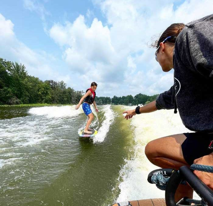 How To Get Up Wake Surfing? First Try Every Time!
