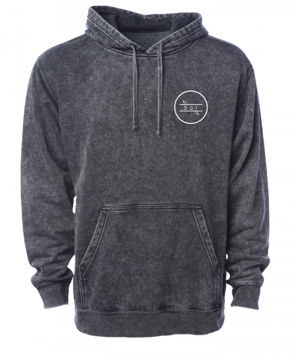 Washed out surf hoodie
